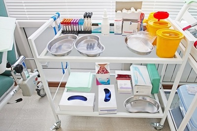 stainless steel medical trolleys